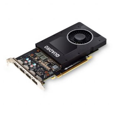 PNY Quadro P2200 Professional Graphics Card, 5GB DDR5X